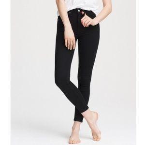 NWT• rag&bone Nina high rise ankle skinny • sz 28
